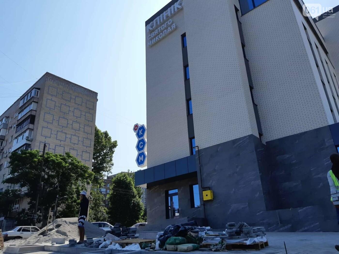 В Запорожье на месте заброшенного долгостроя построили частную клинику: как она выглядит и что будет внутри, - ФОТОРЕПОРТАЖ, фото-3