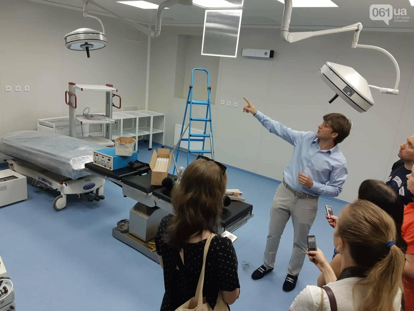В Запорожье на месте заброшенного долгостроя построили частную клинику: как она выглядит и что будет внутри, - ФОТОРЕПОРТАЖ, фото-9