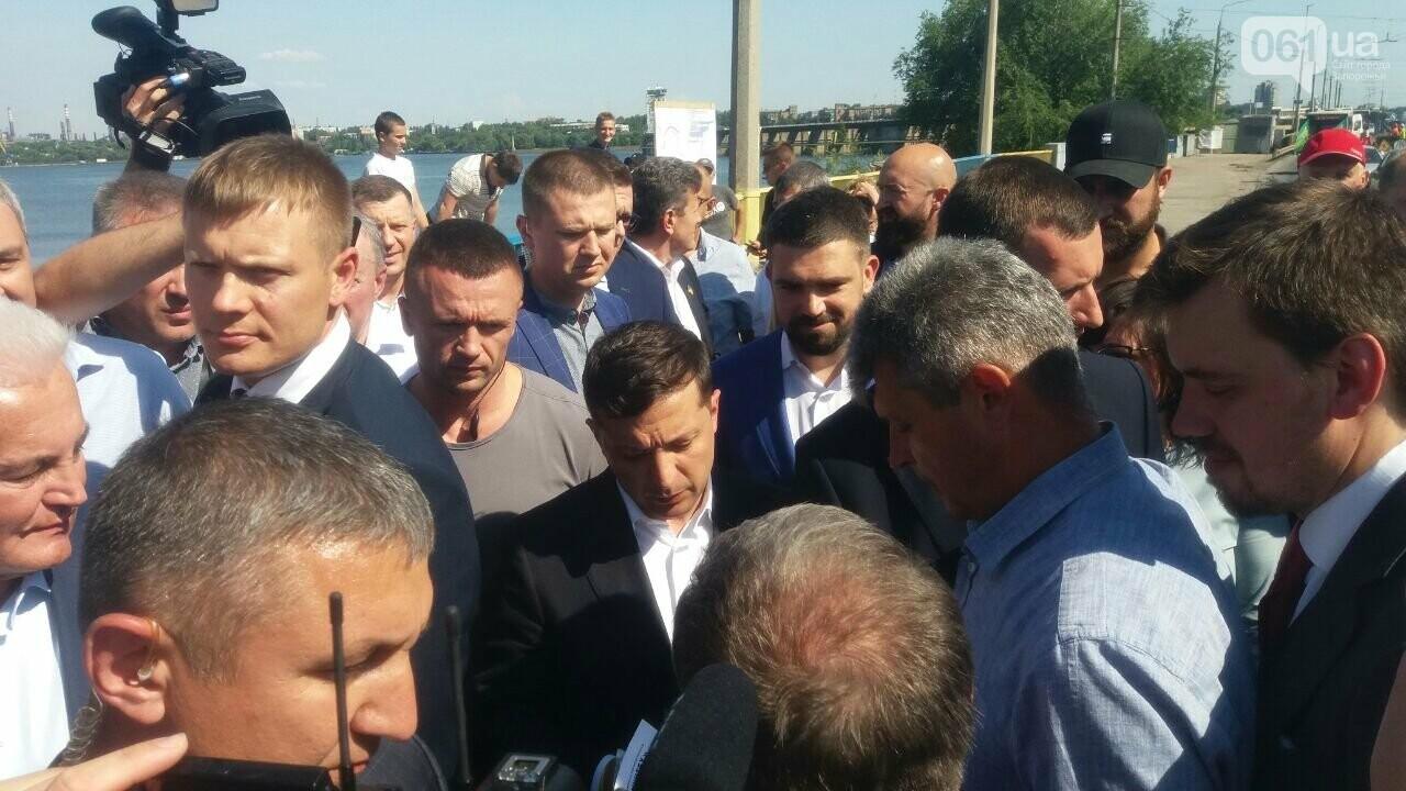 Зеленский приехал посмотреть на ремонт плотины ДнепроГЭС, - ФОТО, фото-7