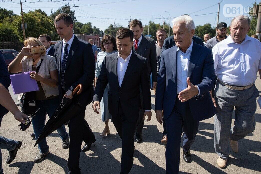 Зеленский приехал посмотреть на ремонт плотины ДнепроГЭС, - ФОТО, фото-10