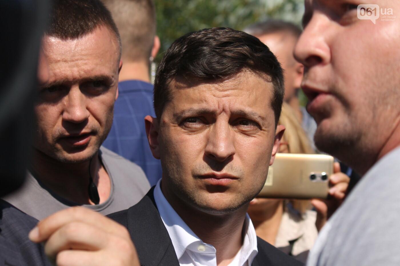 Зеленский в Запорожье: гендиректор «Укргидроэнерго» пообещал уволиться, если вовремя не закончит ремонт плотины, – ФОТО, фото-7