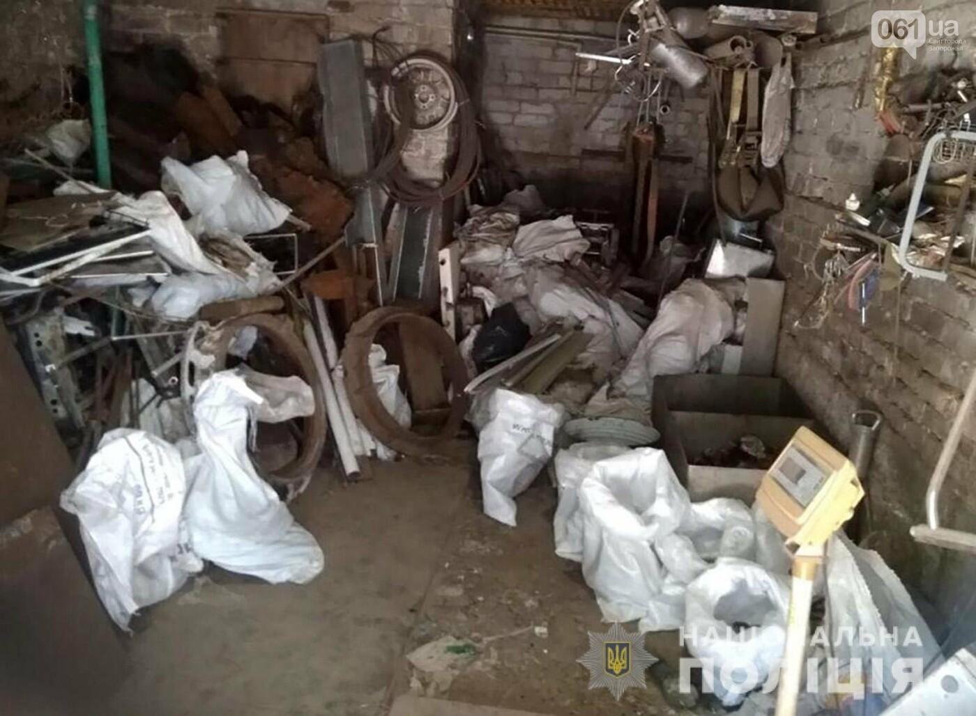 Полиция разоблачила запорожца, который незаконно занимался приемом металлолома и производством алкоголя, – ФОТО, фото-1