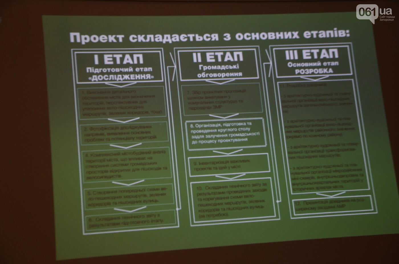 В Запорожье предлагают разрабатывать новые зеленые зоны, велопешеходные и экологические маршруты, фото-21