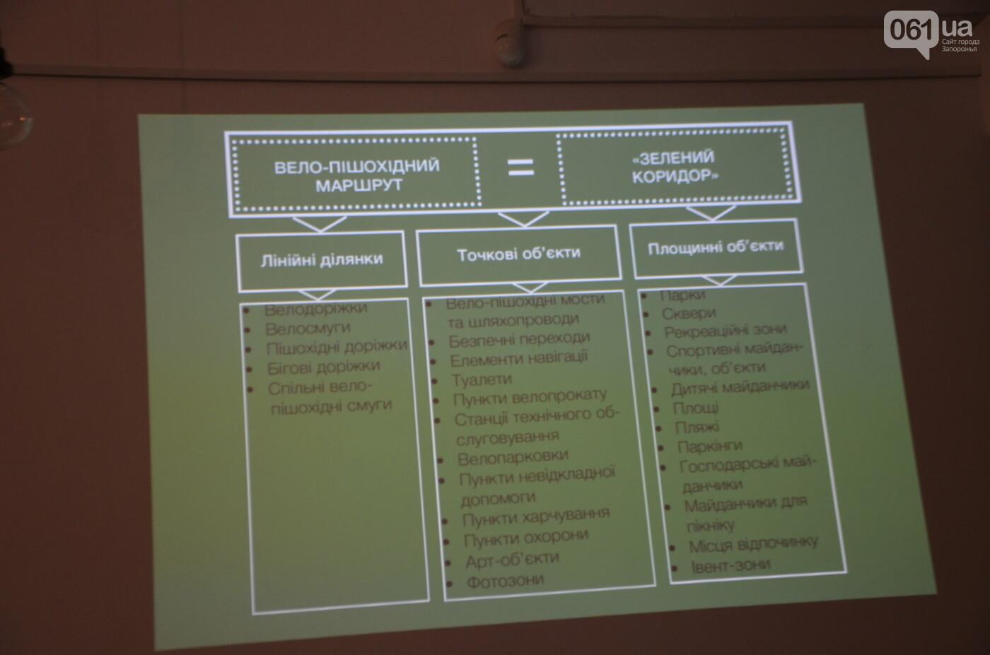 В Запорожье предлагают разрабатывать новые зеленые зоны, велопешеходные и экологические маршруты, фото-19