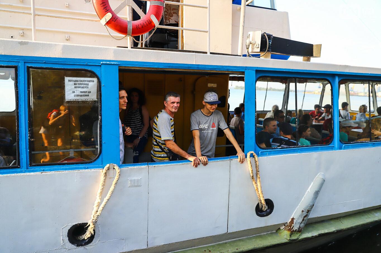 Речной пассажирский транспорт в Запорожье работает неделю: есть ли спрос и что говорят в мэрии, - ФОТОРЕПОРТАЖ, фото-12