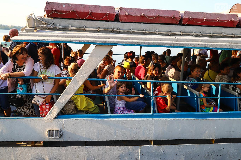 Речной пассажирский транспорт в Запорожье работает неделю: есть ли спрос и что говорят в мэрии, - ФОТОРЕПОРТАЖ, фото-14