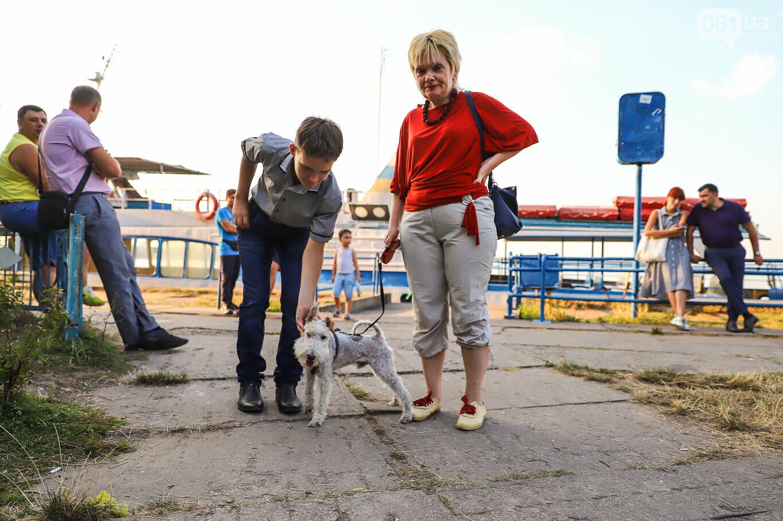 Речной пассажирский транспорт в Запорожье работает неделю: есть ли спрос и что говорят в мэрии, - ФОТОРЕПОРТАЖ, фото-18