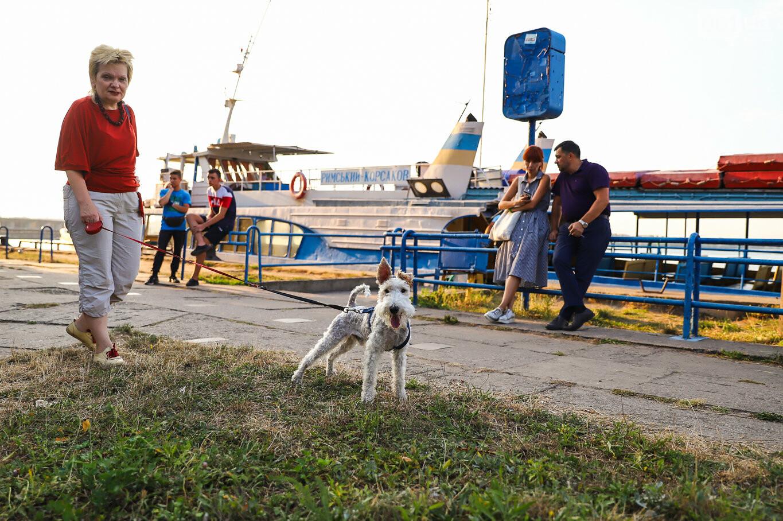Речной пассажирский транспорт в Запорожье работает неделю: есть ли спрос и что говорят в мэрии, - ФОТОРЕПОРТАЖ, фото-19