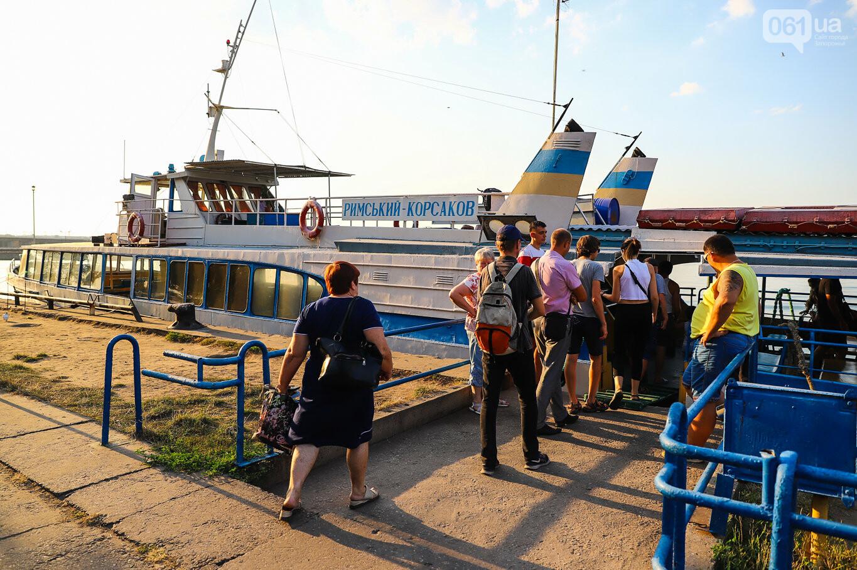 Речной пассажирский транспорт в Запорожье работает неделю: есть ли спрос и что говорят в мэрии, - ФОТОРЕПОРТАЖ, фото-25