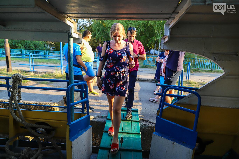 Речной пассажирский транспорт в Запорожье работает неделю: есть ли спрос и что говорят в мэрии, - ФОТОРЕПОРТАЖ, фото-26