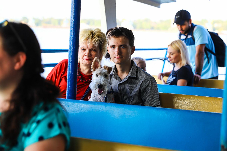 Речной пассажирский транспорт в Запорожье работает неделю: есть ли спрос и что говорят в мэрии, - ФОТОРЕПОРТАЖ, фото-27