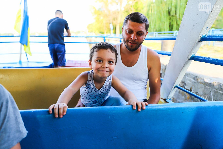 Речной пассажирский транспорт в Запорожье работает неделю: есть ли спрос и что говорят в мэрии, - ФОТОРЕПОРТАЖ, фото-30