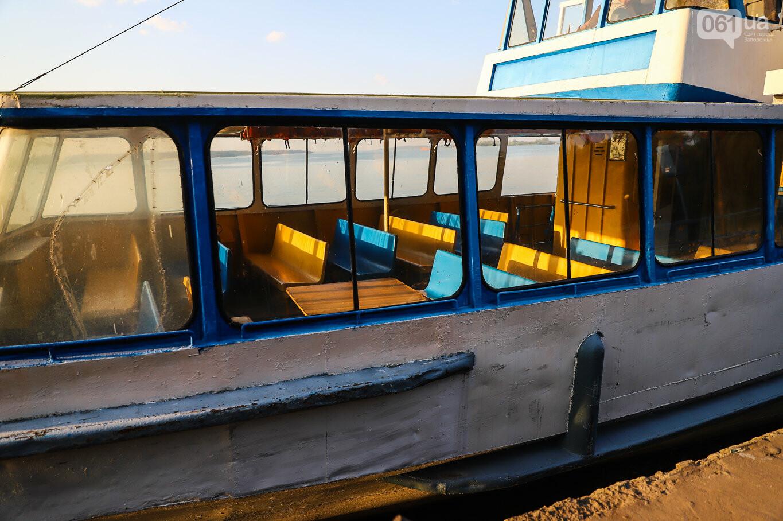 Речной пассажирский транспорт в Запорожье работает неделю: есть ли спрос и что говорят в мэрии, - ФОТОРЕПОРТАЖ, фото-33