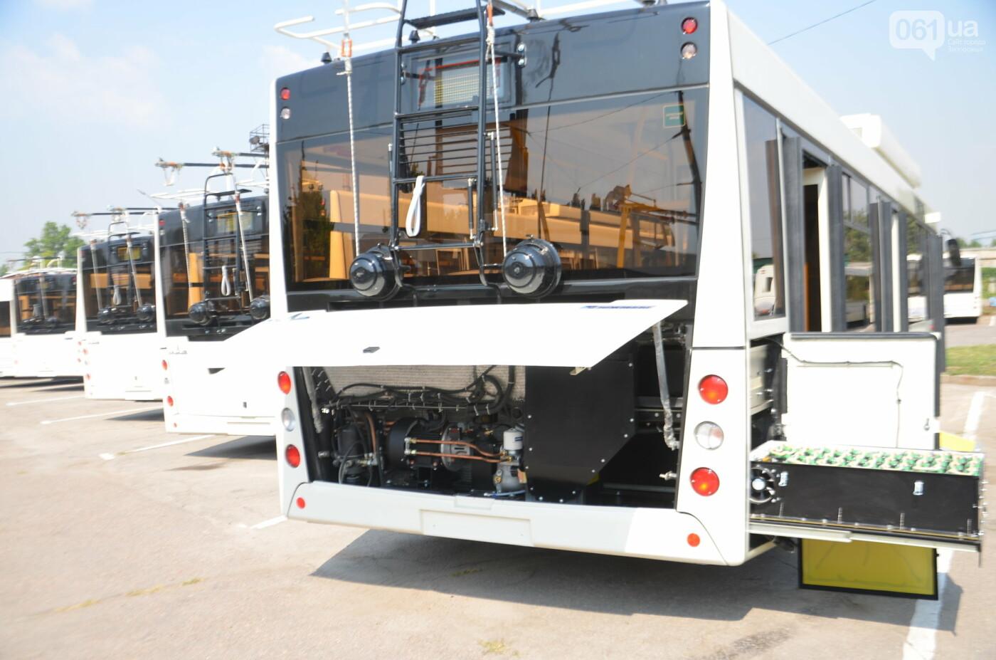 В Запорожье на линию выйдут пять новых троллейбусов с автономным ходом, - ФОТОРЕПОРТАЖ, фото-4