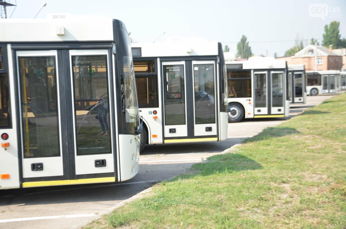 В Запорожье на линию выйдут пять новых троллейбусов с автономным ходом, - ФОТОРЕПОРТАЖ, фото-6