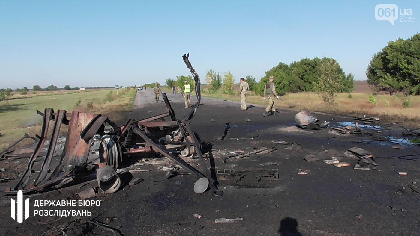 Во время передислокации воинской части взорвался прицеп с горюче-смазочными материалами, - ГБР, фото-1