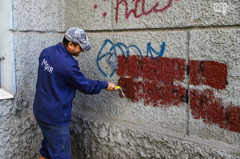 Стоп наркотики: управляющая компания «Мрия» приняла участие в рейде по ликвидации наркорекламы, фото-8