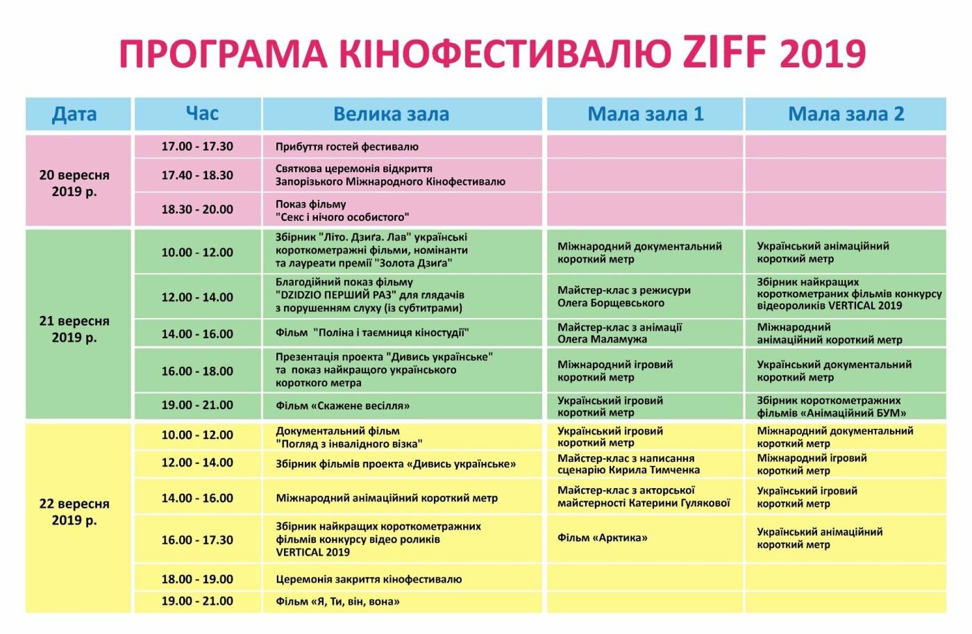 В Запорожье пройдет международный кинофестиваль: когда и какие фильмы смотреть, фото-1