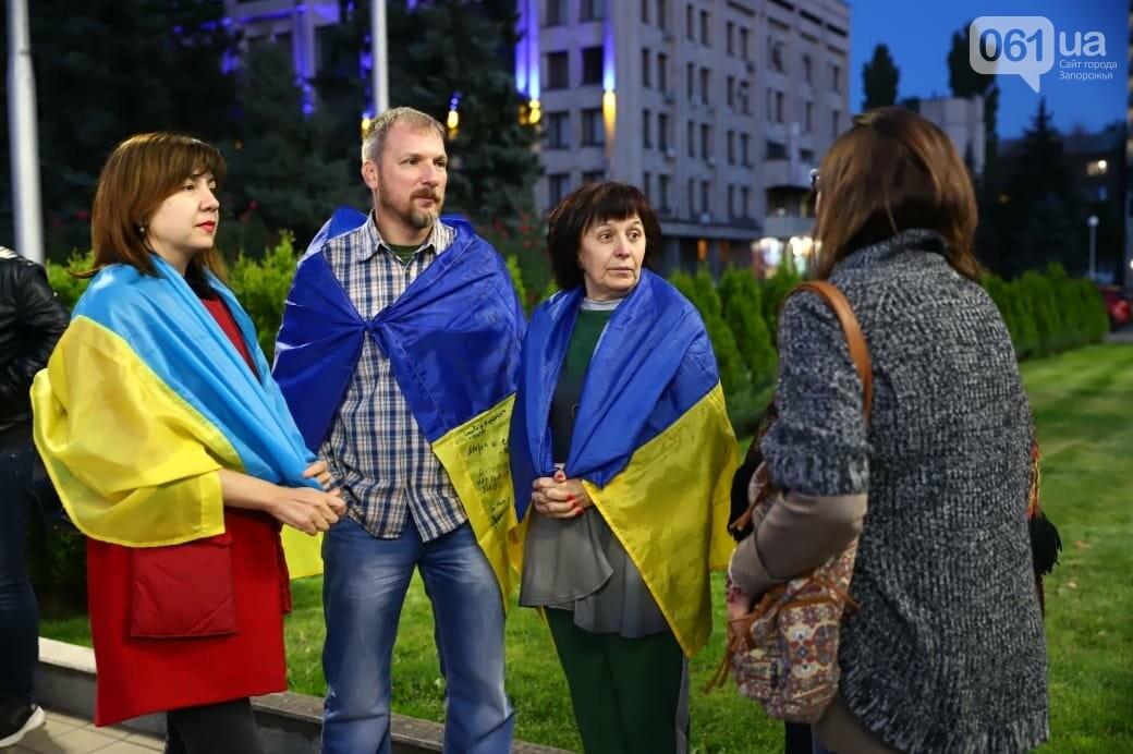 Нет капитуляции: запорожцы вышли на митинг против формулы Штайнмайера, - ФОТОРЕПОРТАЖ, фото-1