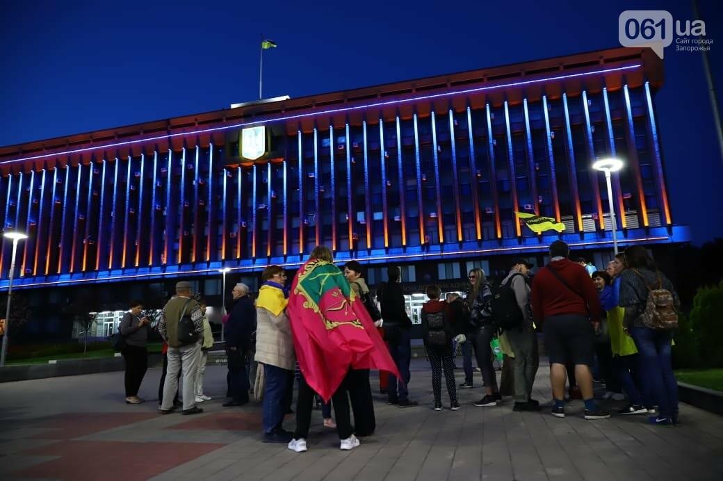 Нет капитуляции: запорожцы вышли на митинг против формулы Штайнмайера, - ФОТОРЕПОРТАЖ, фото-8