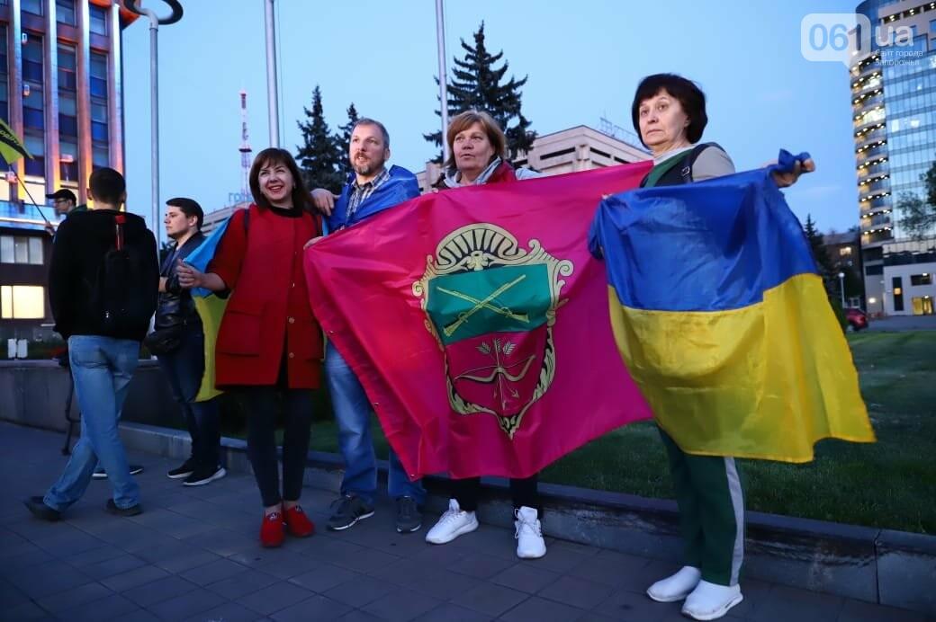 Нет капитуляции: запорожцы вышли на митинг против формулы Штайнмайера, - ФОТОРЕПОРТАЖ, фото-5