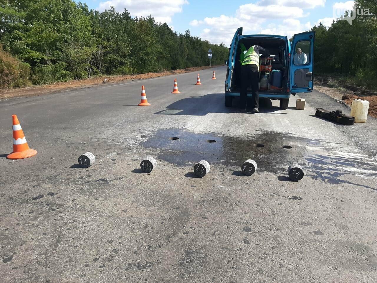 Сделали на 90%: на отремонтированной трассе Запорожье-Мариуполь наносят разметку и устанавливают знаки, фото-6