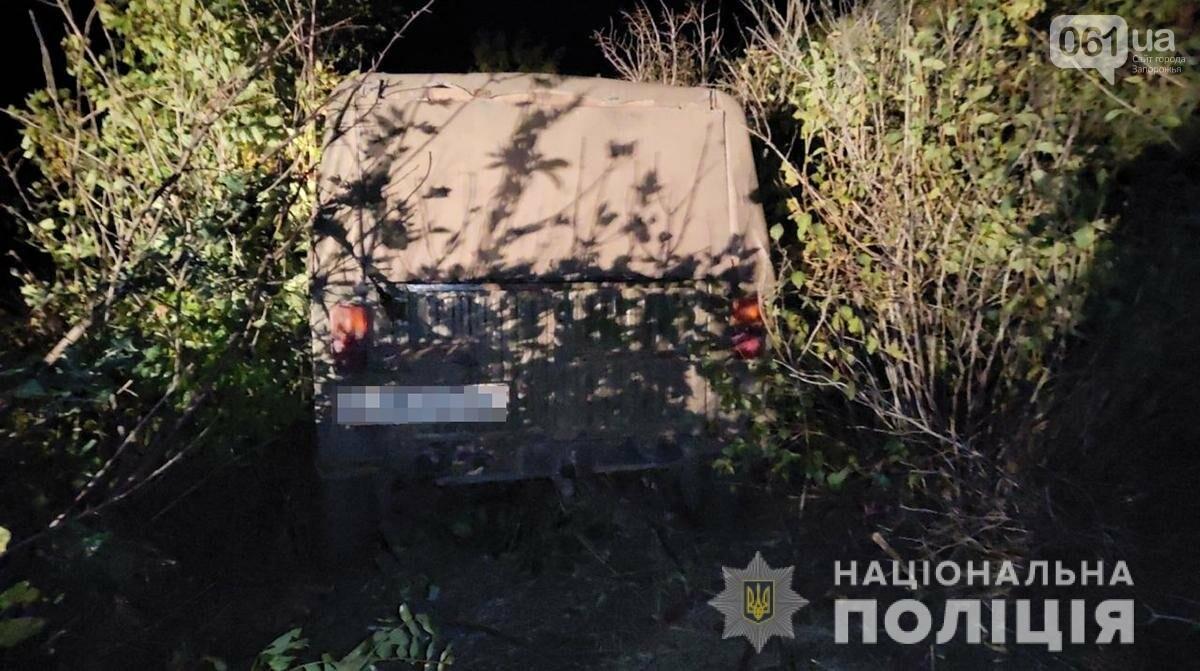 В Запорожской области пьяный водитель сбил пешехода и скрылся с места ДТП - ФОТО, фото-1