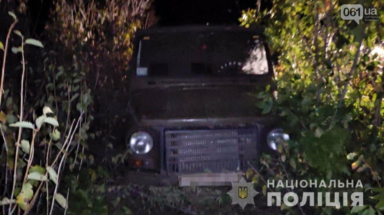 В Запорожской области пьяный водитель сбил пешехода и скрылся с места ДТП - ФОТО, фото-2
