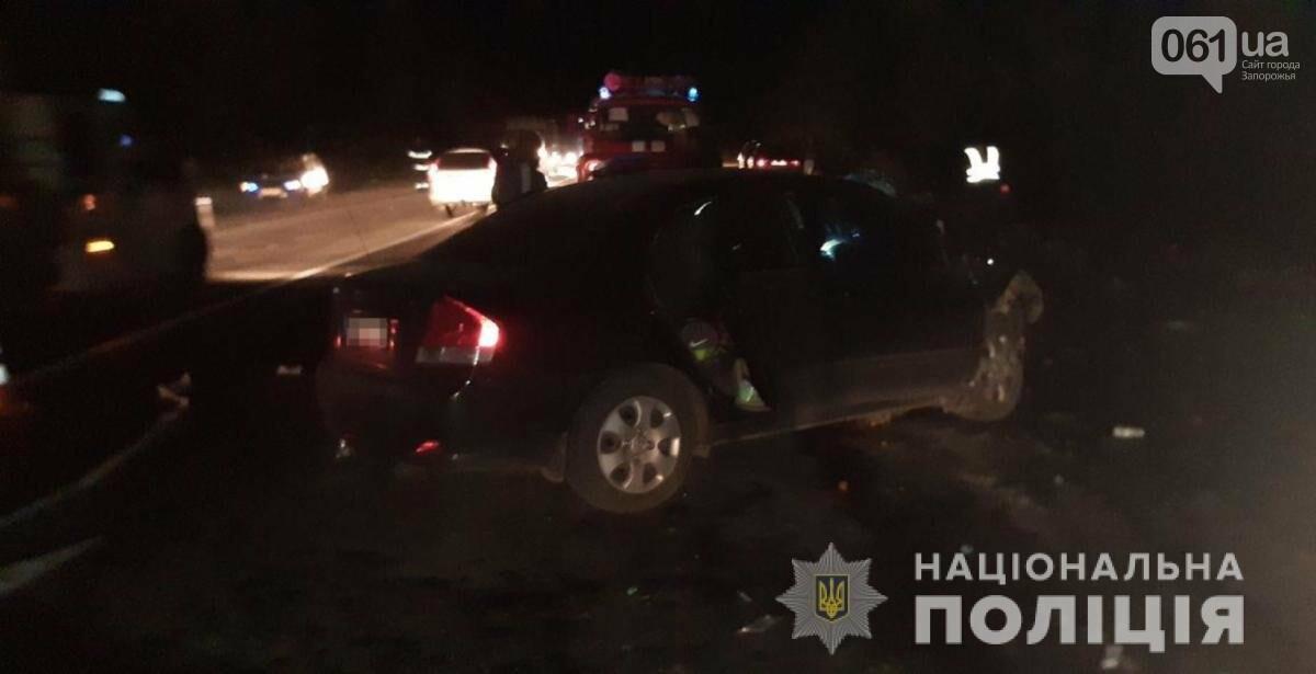На запорожской трассе произошла авария: три человека пострадали, - ФОТО, фото-2