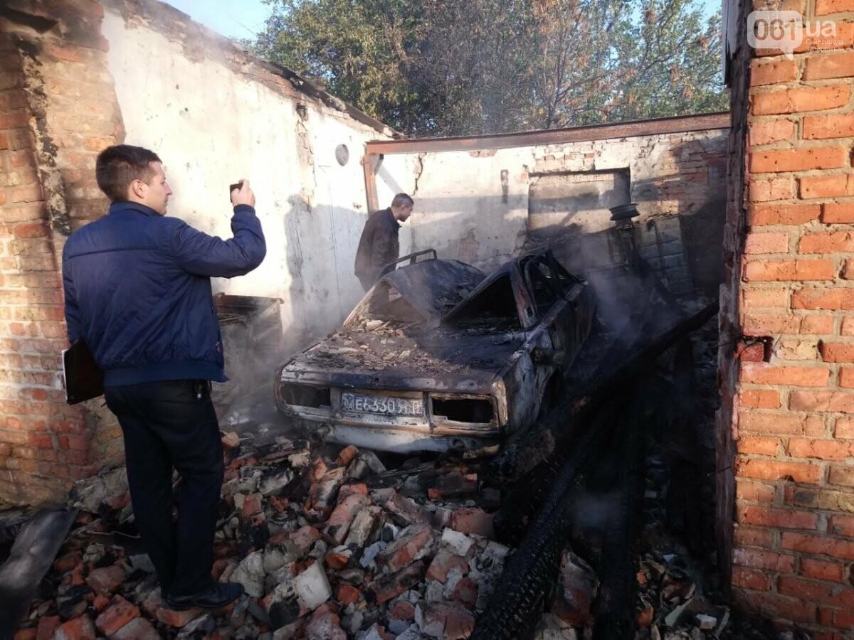 В Запорожской области сгорели гаражи на территории мужского монастыря, фото-5