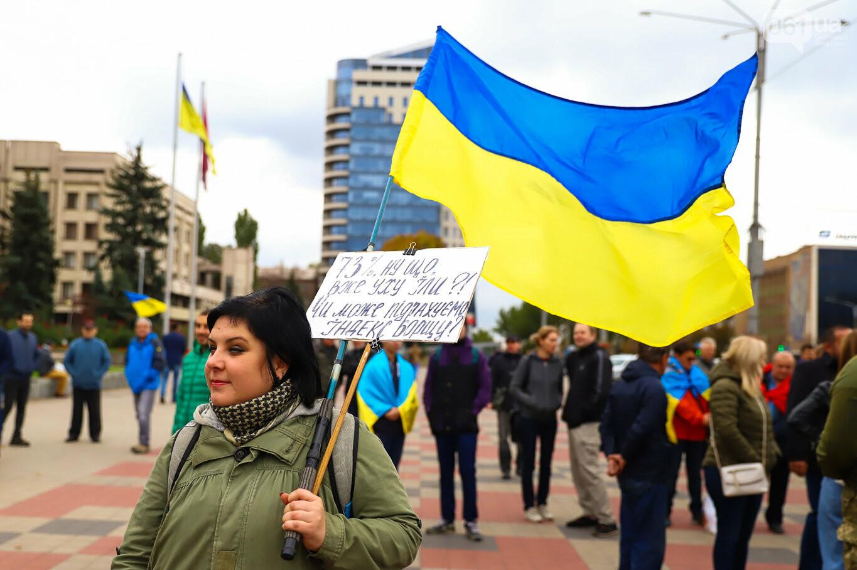 Создание штаба сопротивления, выступление кобзаря и героини Майдана: как в Запорожье прошло вече против капитуляции, - ФОТОРЕПОРТАЖ, фото-10
