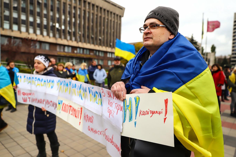 Создание штаба сопротивления, выступление кобзаря и героини Майдана: как в Запорожье прошло вече против капитуляции, - ФОТОРЕПОРТАЖ, фото-12