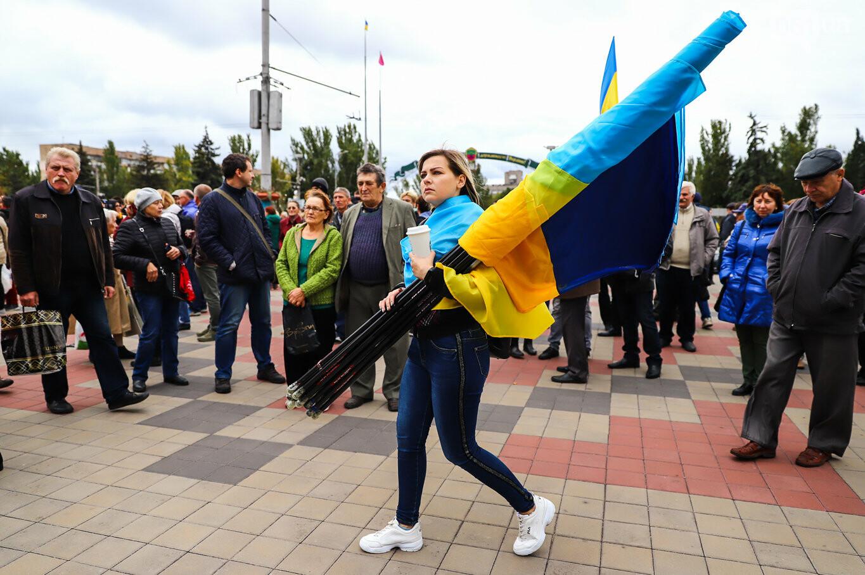 Создание штаба сопротивления, выступление кобзаря и героини Майдана: как в Запорожье прошло вече против капитуляции, - ФОТОРЕПОРТАЖ, фото-15