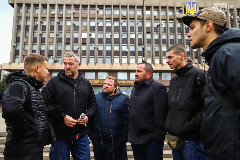 Создание штаба сопротивления, выступление кобзаря и героини Майдана: как в Запорожье прошло вече против капитуляции, - ФОТОРЕПОРТАЖ, фото-2