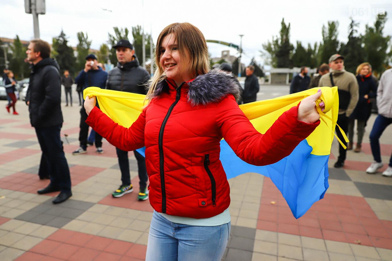 Создание штаба сопротивления, выступление кобзаря и героини Майдана: как в Запорожье прошло вече против капитуляции, - ФОТОРЕПОРТАЖ, фото-16