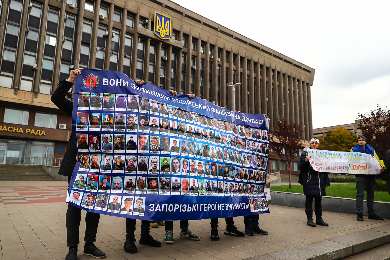 Создание штаба сопротивления, выступление кобзаря и героини Майдана: как в Запорожье прошло вече против капитуляции, - ФОТОРЕПОРТАЖ, фото-18