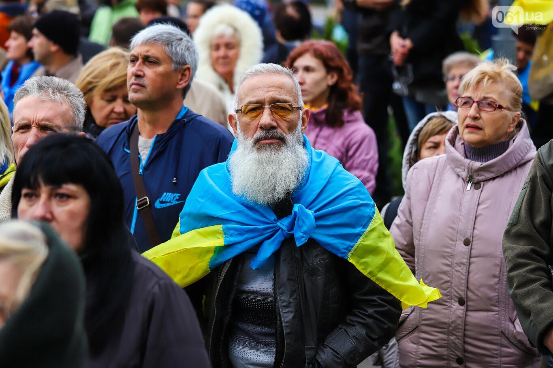 Создание штаба сопротивления, выступление кобзаря и героини Майдана: как в Запорожье прошло вече против капитуляции, - ФОТОРЕПОРТАЖ, фото-19