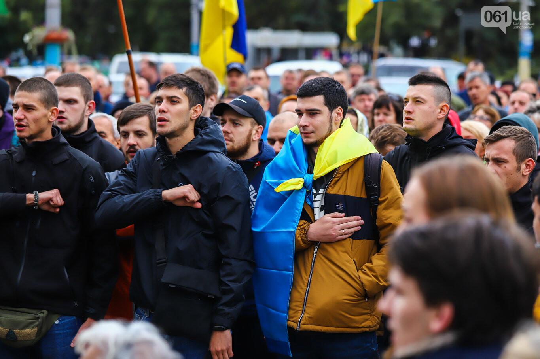 Создание штаба сопротивления, выступление кобзаря и героини Майдана: как в Запорожье прошло вече против капитуляции, - ФОТОРЕПОРТАЖ, фото-21