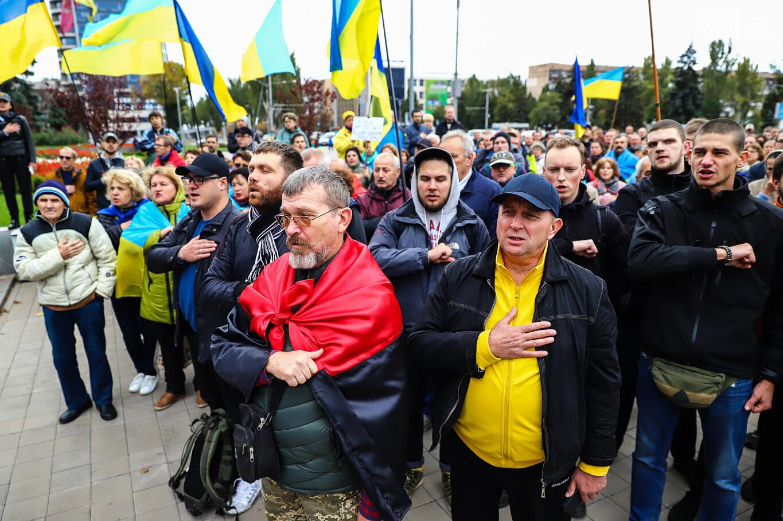 Создание штаба сопротивления, выступление кобзаря и героини Майдана: как в Запорожье прошло вече против капитуляции, - ФОТОРЕПОРТАЖ, фото-22