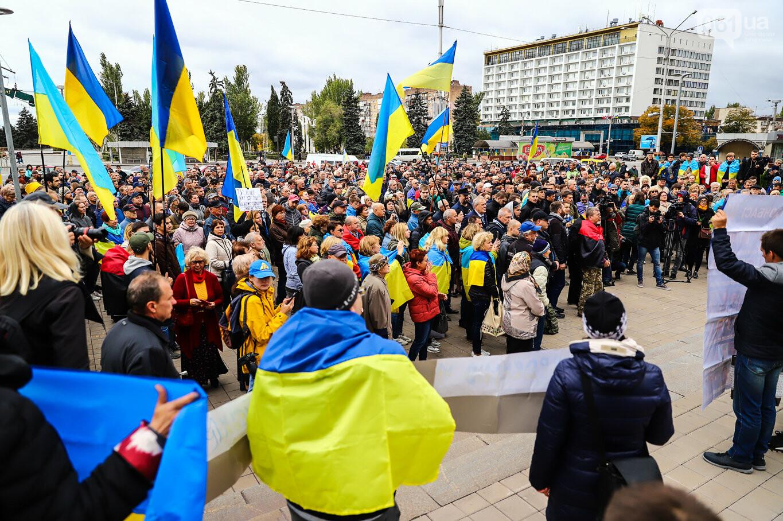 Создание штаба сопротивления, выступление кобзаря и героини Майдана: как в Запорожье прошло вече против капитуляции, - ФОТОРЕПОРТАЖ, фото-23