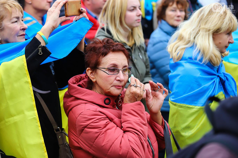Создание штаба сопротивления, выступление кобзаря и героини Майдана: как в Запорожье прошло вече против капитуляции, - ФОТОРЕПОРТАЖ, фото-5