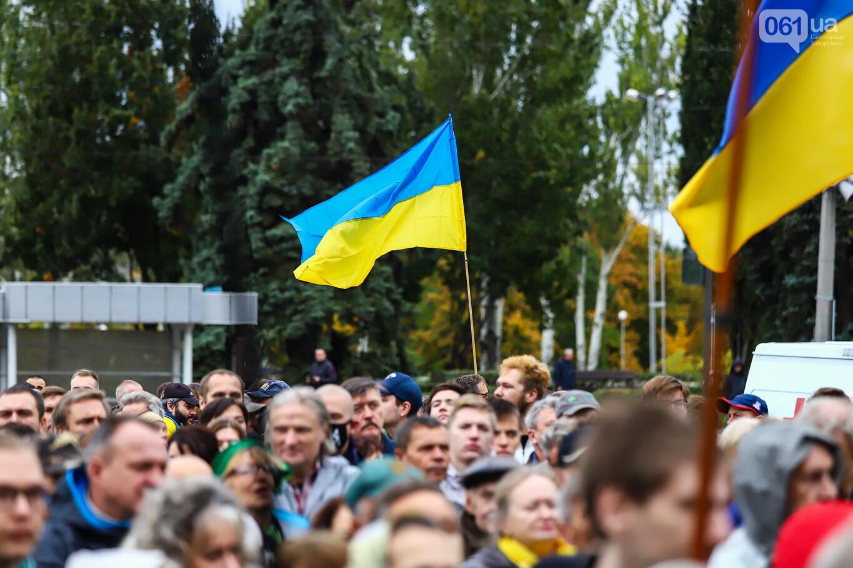 Создание штаба сопротивления, выступление кобзаря и героини Майдана: как в Запорожье прошло вече против капитуляции, - ФОТОРЕПОРТАЖ, фото-24