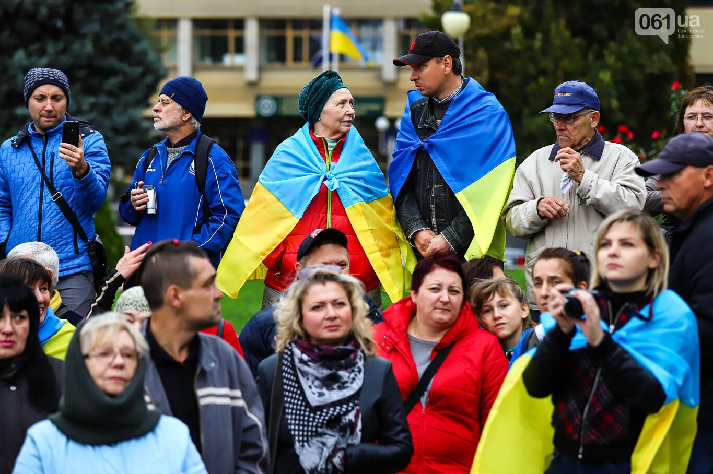 Создание штаба сопротивления, выступление кобзаря и героини Майдана: как в Запорожье прошло вече против капитуляции, - ФОТОРЕПОРТАЖ, фото-25