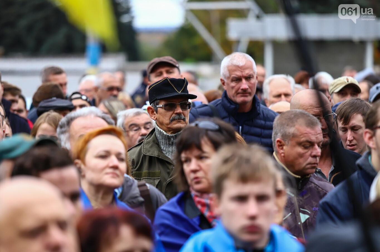 Создание штаба сопротивления, выступление кобзаря и героини Майдана: как в Запорожье прошло вече против капитуляции, - ФОТОРЕПОРТАЖ, фото-27