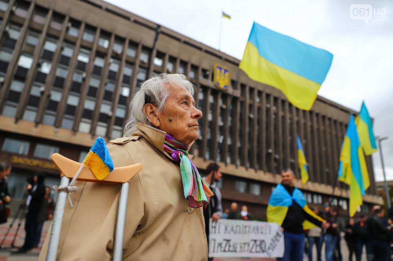 Создание штаба сопротивления, выступление кобзаря и героини Майдана: как в Запорожье прошло вече против капитуляции, - ФОТОРЕПОРТАЖ, фото-3