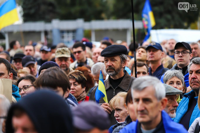 Создание штаба сопротивления, выступление кобзаря и героини Майдана: как в Запорожье прошло вече против капитуляции, - ФОТОРЕПОРТАЖ, фото-32