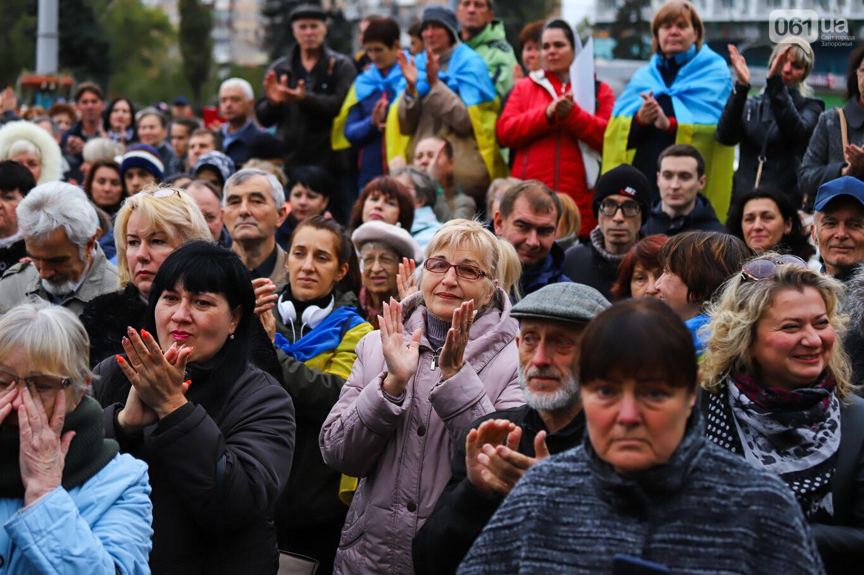 Создание штаба сопротивления, выступление кобзаря и героини Майдана: как в Запорожье прошло вече против капитуляции, - ФОТОРЕПОРТАЖ, фото-33