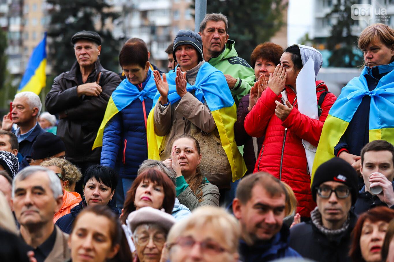 Создание штаба сопротивления, выступление кобзаря и героини Майдана: как в Запорожье прошло вече против капитуляции, - ФОТОРЕПОРТАЖ, фото-6