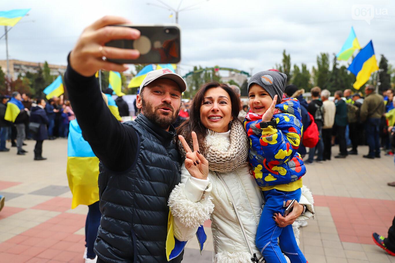 Создание штаба сопротивления, выступление кобзаря и героини Майдана: как в Запорожье прошло вече против капитуляции, - ФОТОРЕПОРТАЖ, фото-40