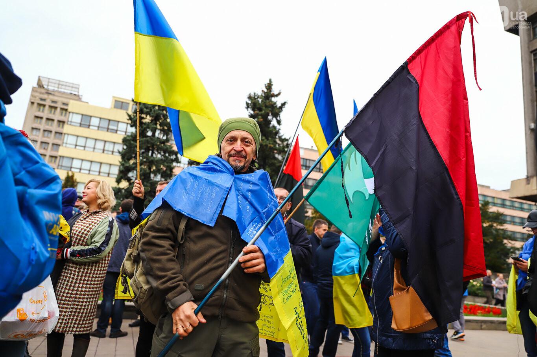 Создание штаба сопротивления, выступление кобзаря и героини Майдана: как в Запорожье прошло вече против капитуляции, - ФОТОРЕПОРТАЖ, фото-41